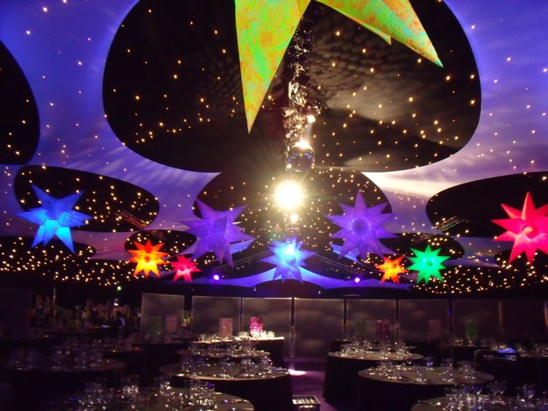 Inflatable Stars Corporate Event