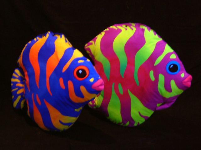 3d Fluoro Tropical Fish