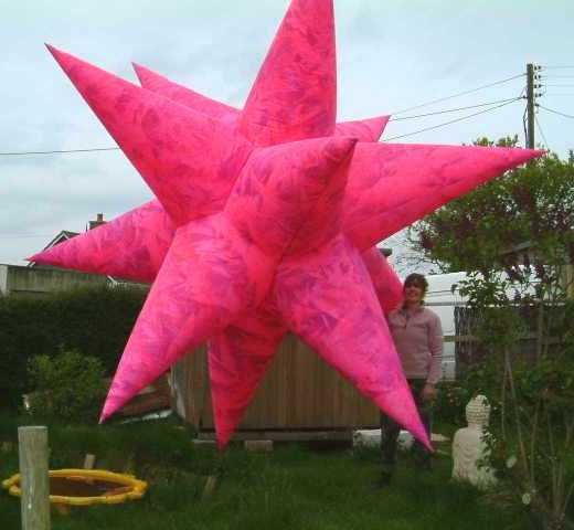 Inflatable Stars For Hire